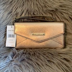 Clutch Metal Silver Bag